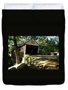Lovejoy Covered Bridge Duvet Cover