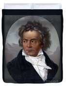 Ludwig Van Beethoven, German Composer Duvet Cover