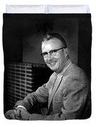 Luis Alvarez, American Physicist Duvet Cover