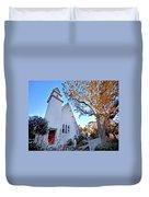 Magnolia Springs Alabama Church Duvet Cover