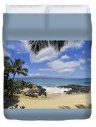 Makena, Secret Beach Duvet Cover