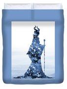 Maleficent-blue Duvet Cover
