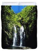 Maui Waterfall Duvet Cover