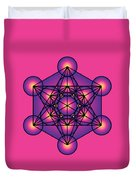 Metatron's Cube Duvet Cover
