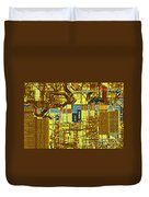 Microprocessor Duvet Cover