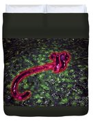 Microscopic View Of Ebola Virus Duvet Cover