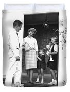 Milkman Home Delivery Duvet Cover