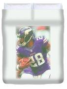 Minnesota Vikings Adrian Peterson Duvet Cover