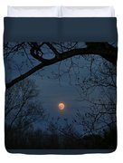 Misty Moonrise Duvet Cover