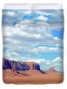 Monument Valley National Park Duvet Cover