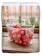 Morello Cherries Duvet Cover