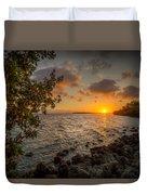 Morning At The Mangroves Duvet Cover
