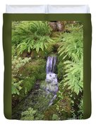 Mossy Waterfall Duvet Cover