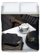 Museum Artifacts Duvet Cover