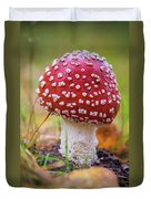 Mushrooms Duvet Cover