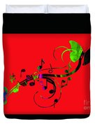 Music Flows Collection Duvet Cover