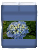 My Blue Hydrangeas Duvet Cover
