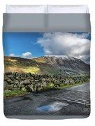 Nant Ffrancon Pass Duvet Cover
