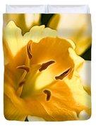 10553 Narcissus Superstar - Flower 080  Duvet Cover