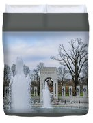 National World War II Memorial Duvet Cover