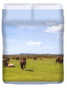 New Forest - Hampshire - Uk Duvet Cover