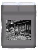 New Orleans: Milk Cart Duvet Cover
