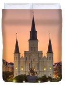 New Orleans St Louis Cathedral Duvet Cover