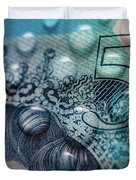 New Uk Five Pound Note Duvet Cover