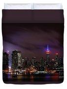 New York City Skyline  Duvet Cover