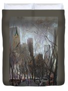 Nyc Central Park Duvet Cover