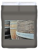 Oak Wine Barrel Duvet Cover