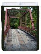 Old Alton Bridge  Duvet Cover