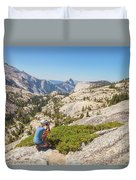 Olmsted Point Shooting Duvet Cover