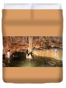 Onondaga Cave Formations Duvet Cover