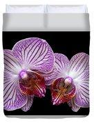 2 Orchids Duvet Cover
