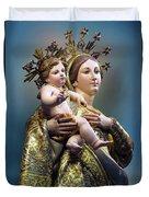 Our Lady Of Graces Duvet Cover