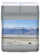 Owens Dry Lake Duvet Cover