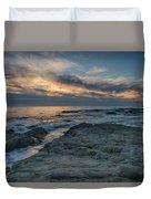 Pacific Grove Sunset Duvet Cover