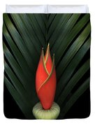 Palm Of Fire Duvet Cover