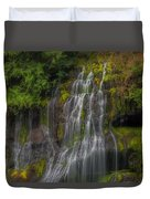 Panther Creek Falls Duvet Cover