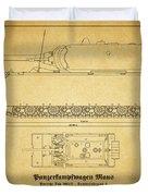 Panzerkampfwagen Maus Duvet Cover