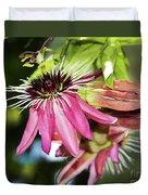 Passiflora Duvet Cover