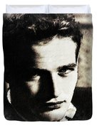 Paul Newman, Actor Duvet Cover