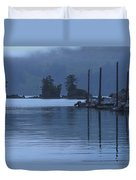 Peaceful Kachemak Bay Duvet Cover