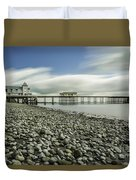 Penarth Pier 6 Duvet Cover