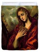 Penitent Magdalene Duvet Cover
