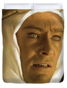 Peter O'toole As Lawrence Of Arabia Duvet Cover