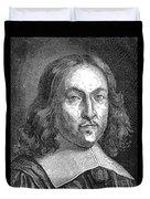 Pierre De Fermat, French Mathematician Duvet Cover