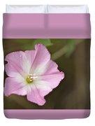 Pink Wildflower Duvet Cover