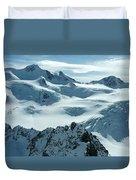 Pitztal Glacier Duvet Cover
